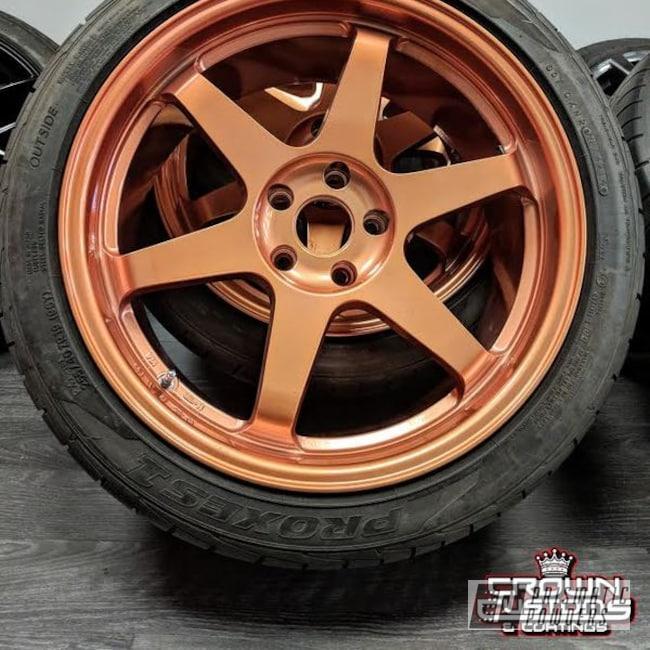 Powder Coating: Wheels,Custom,Illusion,Automotive,Custom Rims,Clear Vision PPS-2974,Custom Wheels,Rims,Rosegold,ILLUSION ROSE GOLD - DISCONTINUED PMB-10047