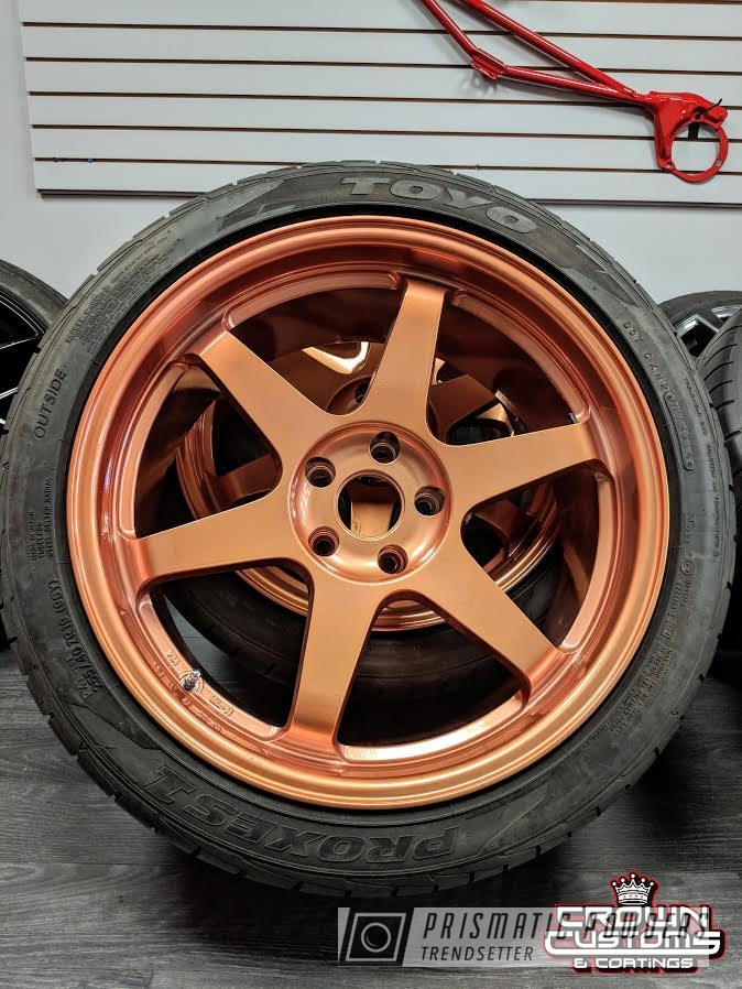 Powder Coating: Wheels,Custom,Automotive,Custom Rims,Clear Vision PPS-2974,Custom Wheels,Rims,ILLUSION,Illusion Rose Gold PMB-10047,Rosegold