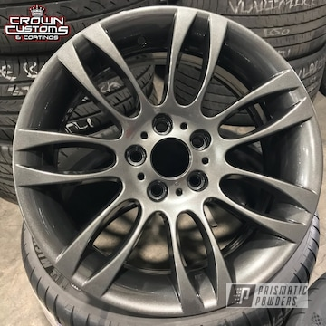 Audi Wheels Done In Graphite Charcoal With Clear Vision Top Coat
