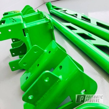 Truck Lift Kit In Energy Green
