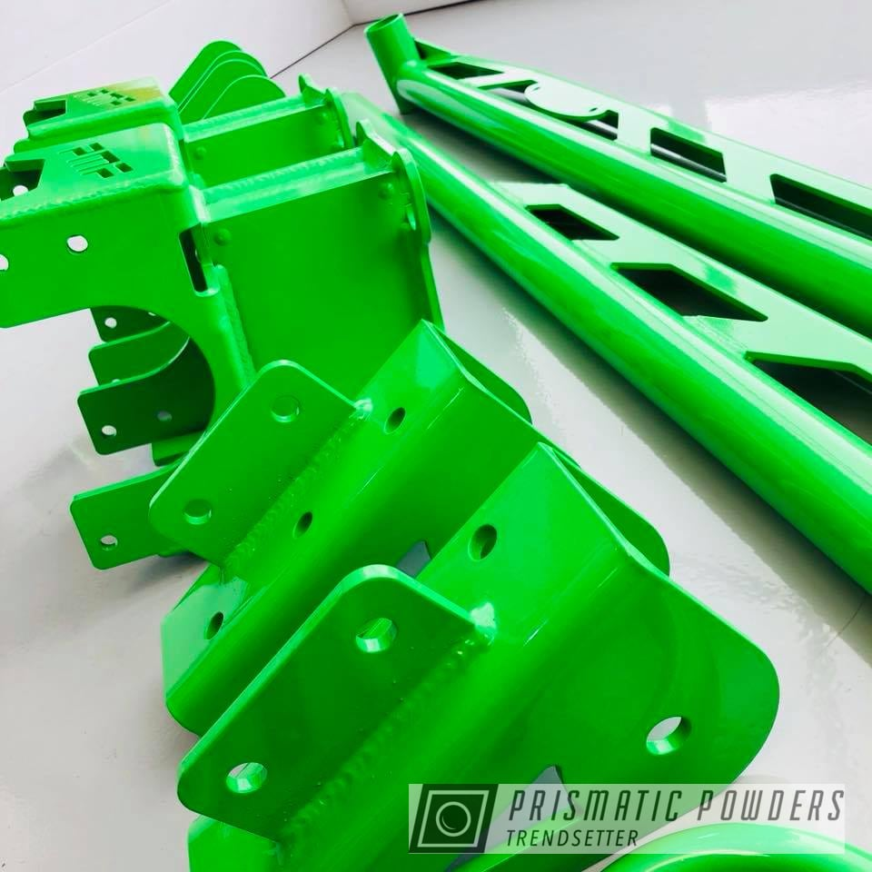 Powder Coating: Automotive,Truck,Energy Green PSB-6669,Lifted,Custom Lift Kit,Suspension Lift Components,Lift Kit,Suspension