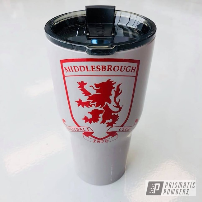 Powder Coating: Tumbler,Grey Gloss PSS-5798,RTIC,RAL 3003 Ruby Red,Custom Tumbler Cup