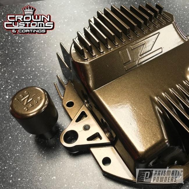 Powder Coating: Automotive,Custom Automotive,Bronze Chrome PMB-4124,Shift Knob,Differential Cover