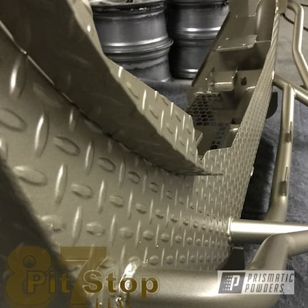 Powder Coating: Automotive,Dodge Bumpers,Bumpers,Dodge,Truck Bumper,Bumper,Dodge Gold PMB-6688,Powder Coated Bumpers