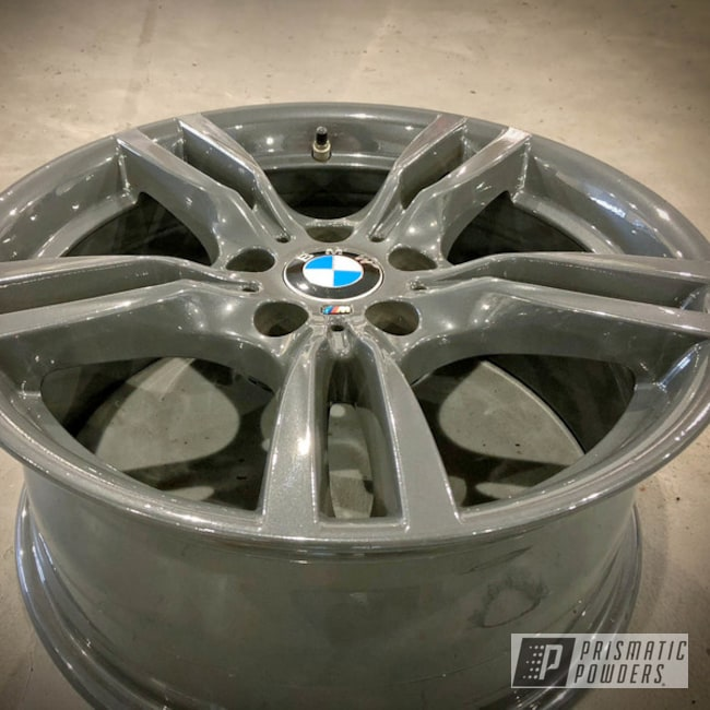 Bmw M Wheels Done With Clear Vision Over Steel Metallic