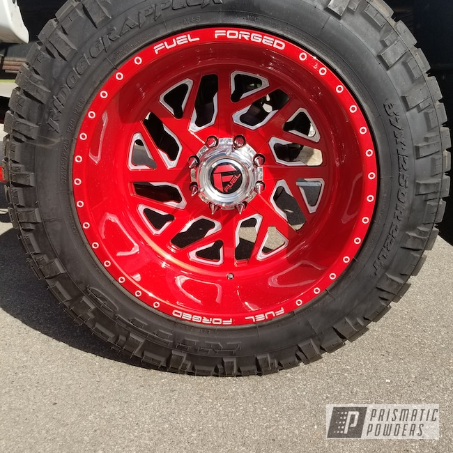 Powder Coating: Wheels,Automotive,Suspension Parts,Fuel,Clear Vision PPS-2974,Forged,Off-Road,Illusion Red PMS-4515,Fuel Forged,Suspension