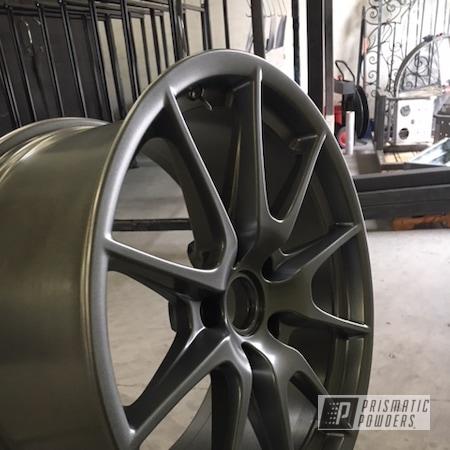 Powder Coating: Wheels,Automotive,Cosmic Grey PMB-1756,Onecoat