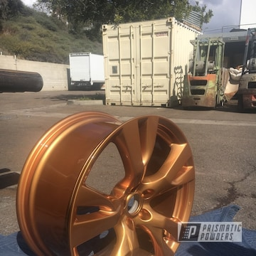 Custom Wheels In Illusion True Copper And Clear Vision