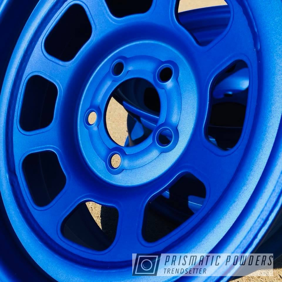 Powder Coating: Wheels,Automotive,wheel,Race,Illusion Blueberry PMB-6908,Bassett,Casper Clear PPS-4005,Racing Wheels