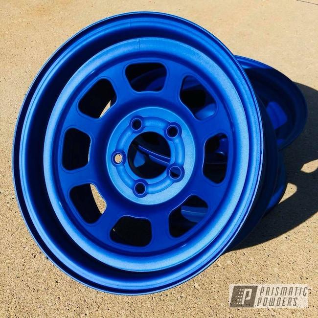 Powder Coating: Wheels,Automotive,wheel,Race,Illusion Blueberry PMB-6908,Bassett,Casper Clear PPS-4005,Racing Wheels