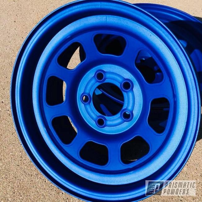 Powder Coating: Wheels,Automotive,Race,Wheel,Illusion Blueberry PMB-6908,Bassett,Casper Clear PPS-4005,Racing Wheels