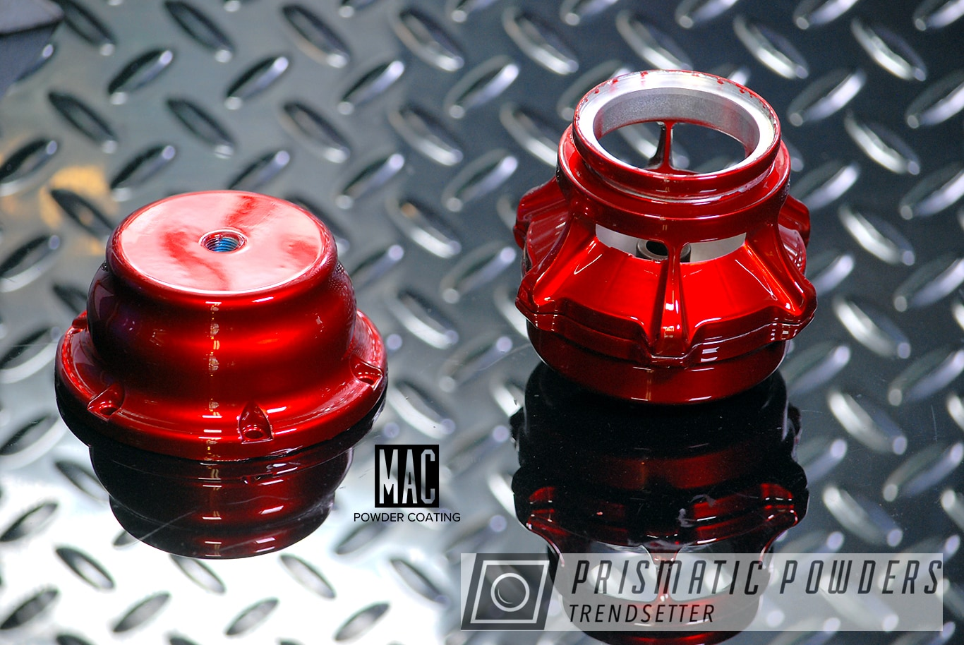 Powder Coating: Automotive,Turbo Parts,Turbo Part,Wastegate,Deep Red PPS-4491,Turbo Charger Wastegate Valve
