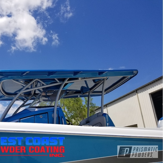 Powder Coating: Clear Vision PPS-2974,Boat Parts,Boat,Boatlife,Class A Silver PMB-4202