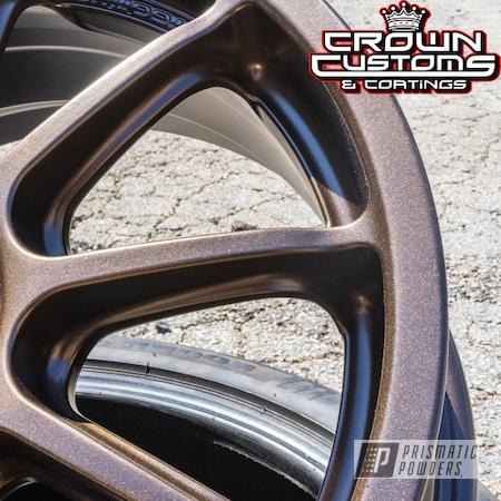 Powder Coating: Wheels,Custom,Automotive,TRIPLE BRONZE UMB-4548,GOLD RUBBED BRONZE UMB-4469,powder coating,powder coated
