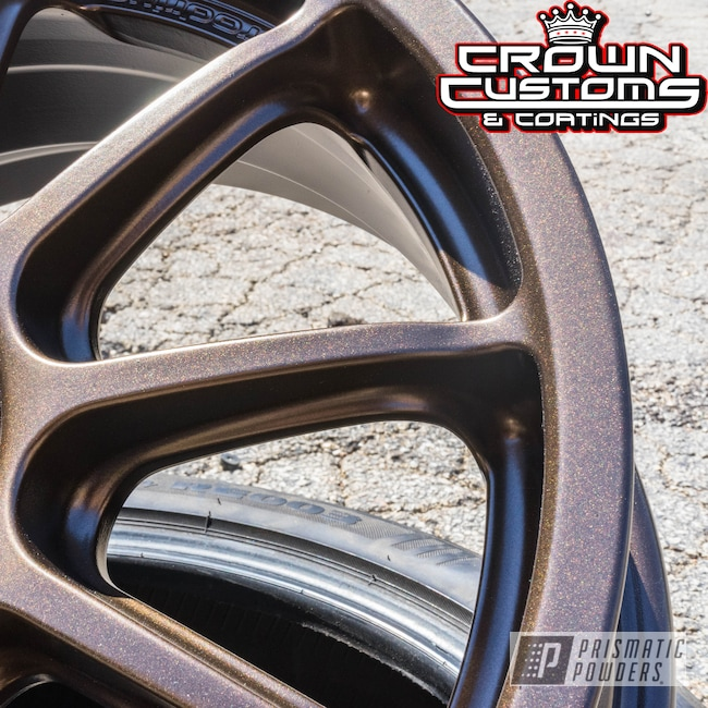Powder Coating: Wheels,Custom,Automotive,TRIPLE BRONZE UMB-4548,GOLD RUBBED BRONZE UMB-4469,powder coating,powder coated