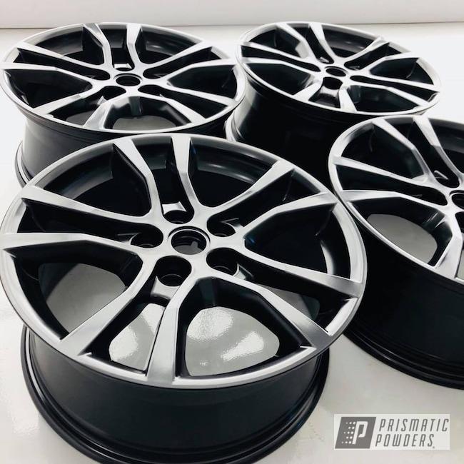 Powder Coating: Matt Black PSS-4455,Wheels,Automotive,black,Chevy,Camaro