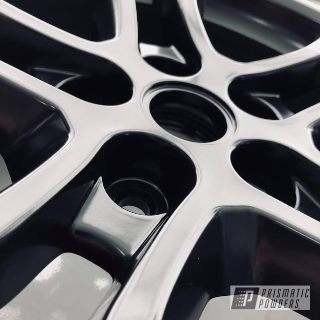 Powder Coating: Wheels,Matte Black PSS-4455,Automotive,Black,Chevy,Camaro