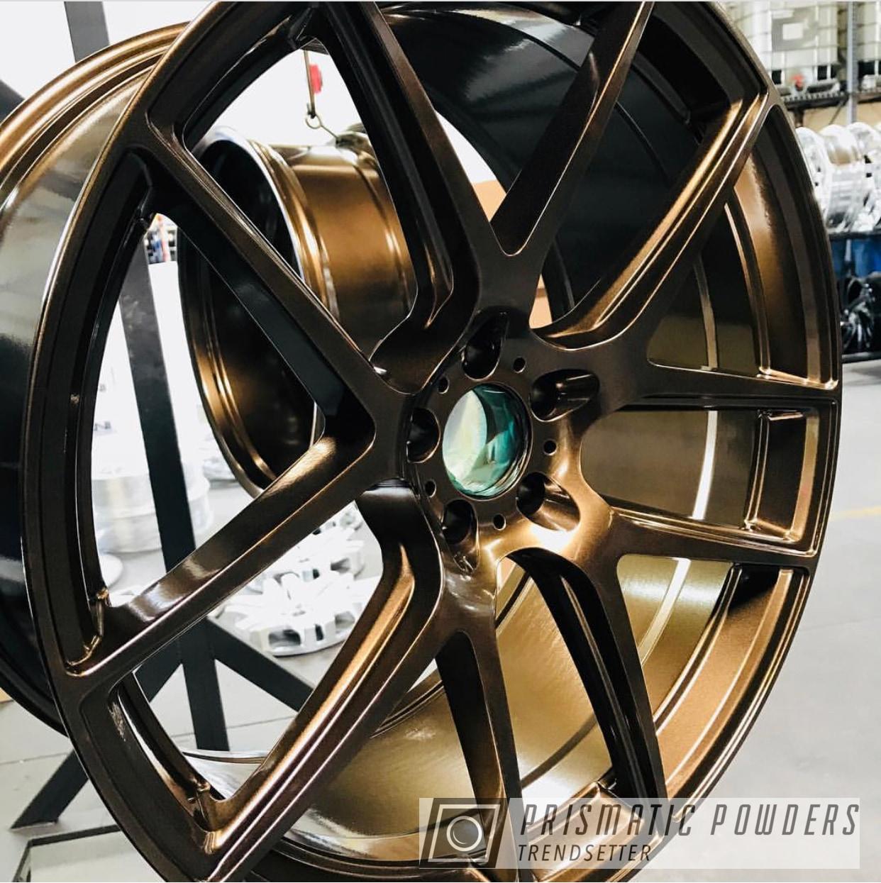 Powder Coating: Wheels,Automotive,Custom Wheels,Bronze Chrome PMB-4124,bronze