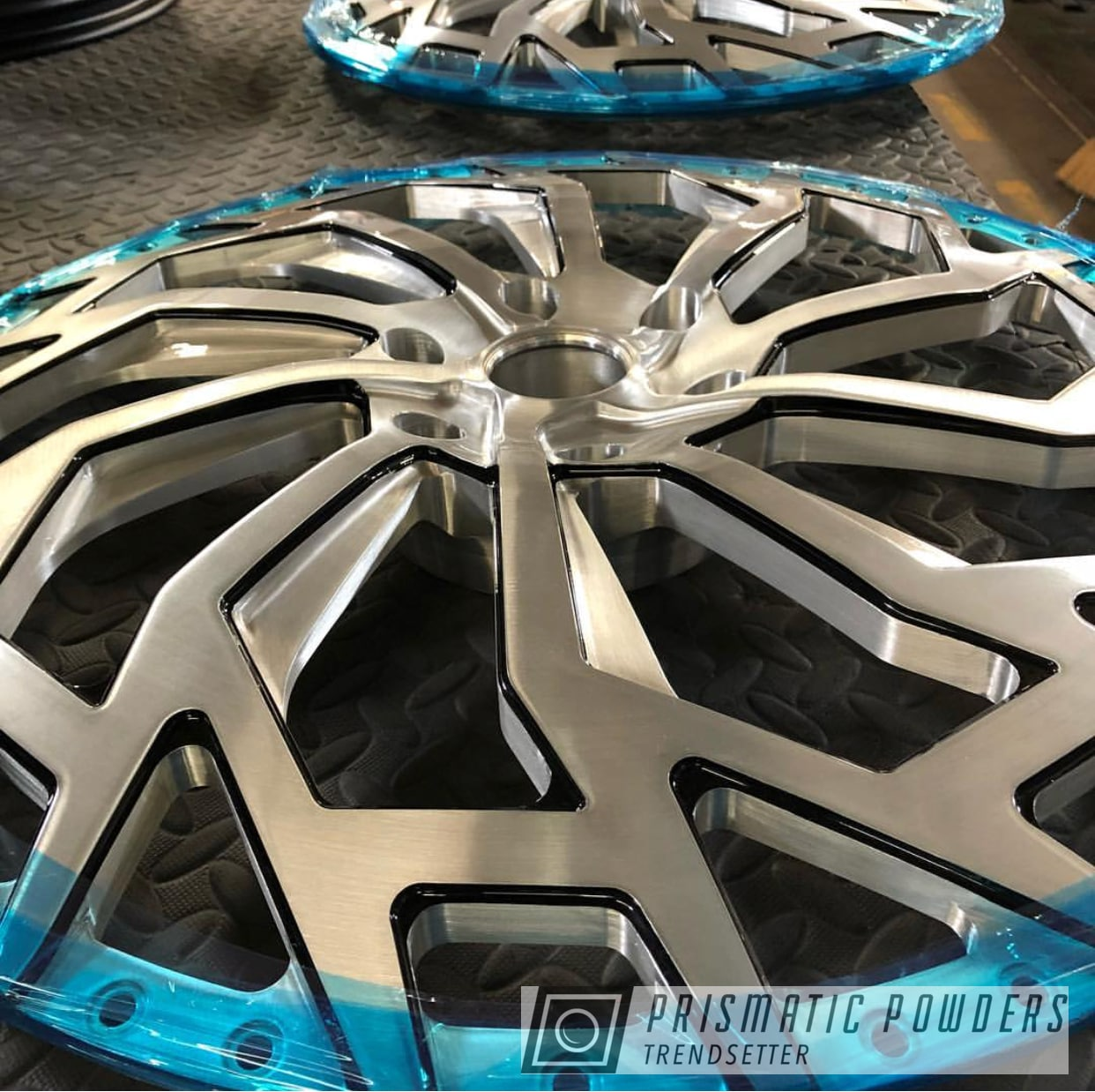Powder Coating: Wheels,Automotive,Clear Vision PPS-2974,Custom Wheels