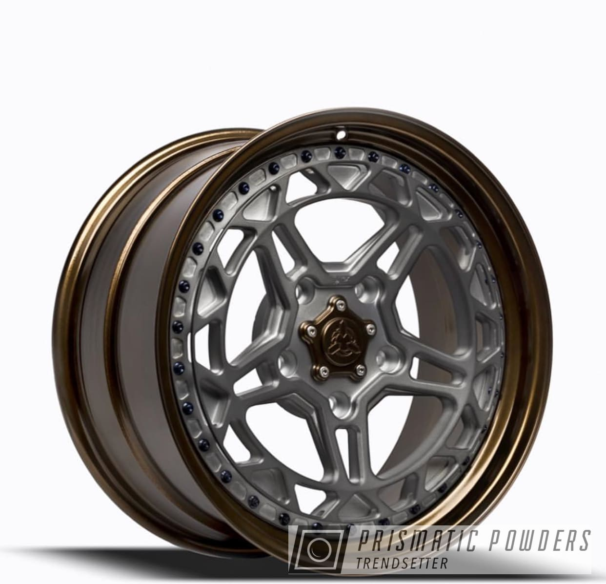 Powder Coating: Wheels,Rim,Black Chrome II PPB-4623,Automotive,Custom Wheels