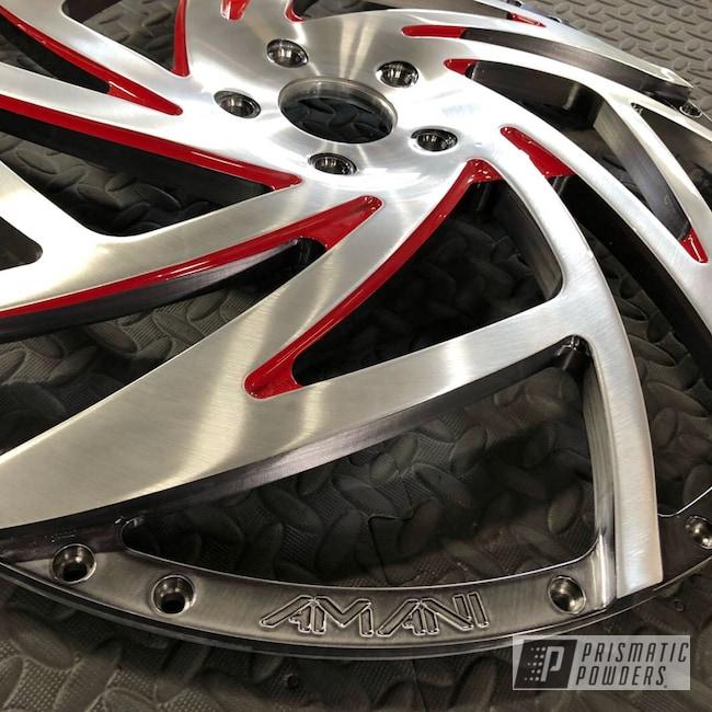 Powder Coating: Wheels,Automotive,Clear Vision PPS-2974,Custom Wheels,Liquid Smoke PPS-3081