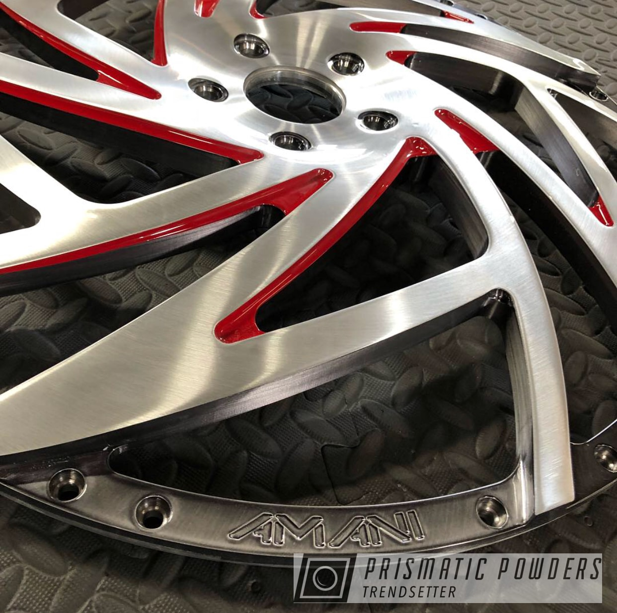 Powder Coating: Wheels,Automotive,Clear Vision PPS-2974,Custom Wheels,Liquid Smoke PPS-3081