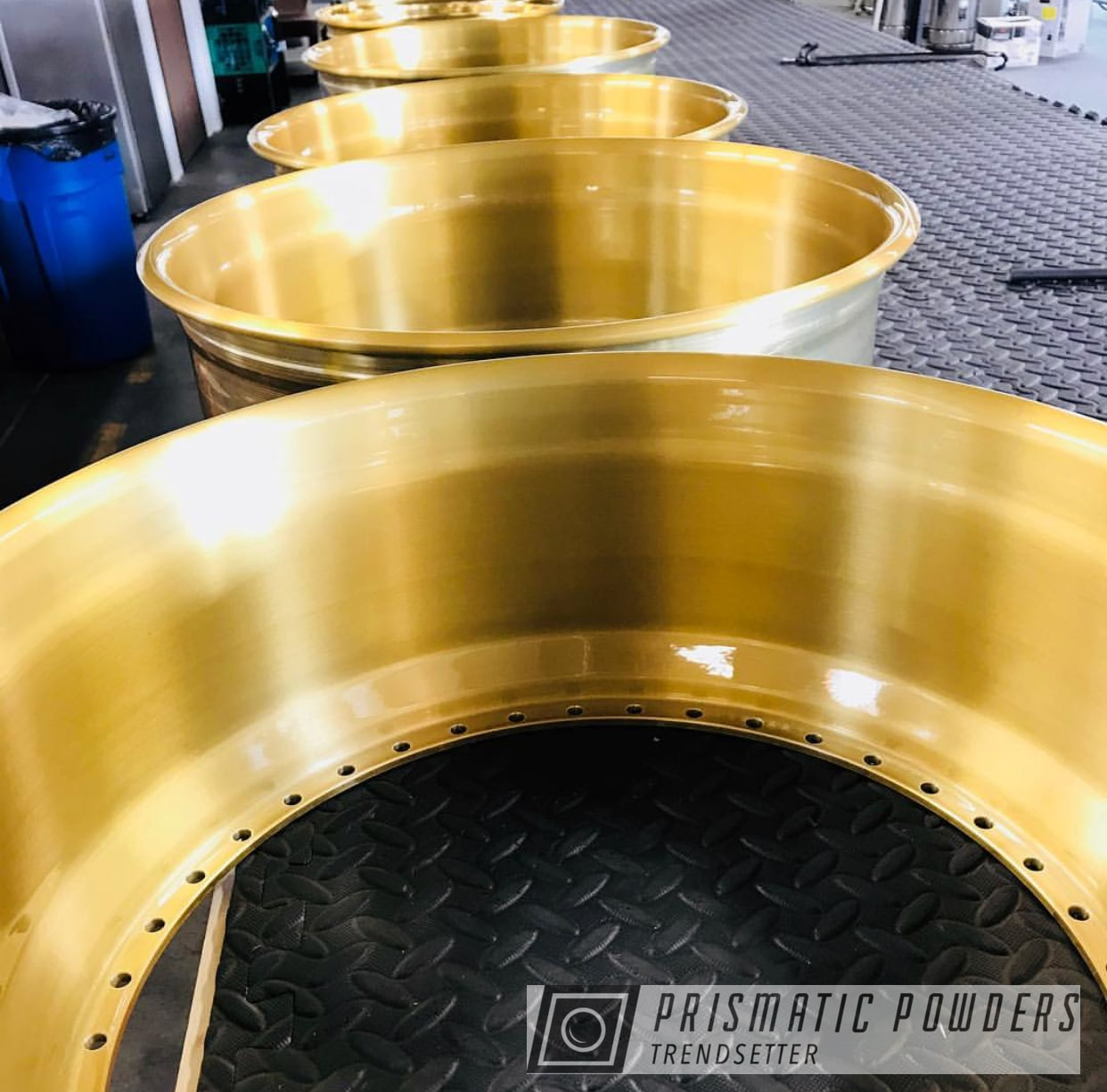 Powder Coating: Wheels,Automotive,Transparent Brass PPS-5159,Custom Wheels