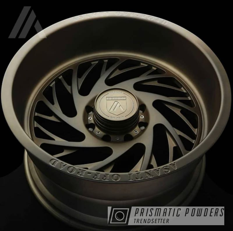 Powder Coating: Wheels,Automotive,Custom Automotive,Asanti Rims,Custom Wheels,bronze,Asanti,Melted Bronze PPB-8034