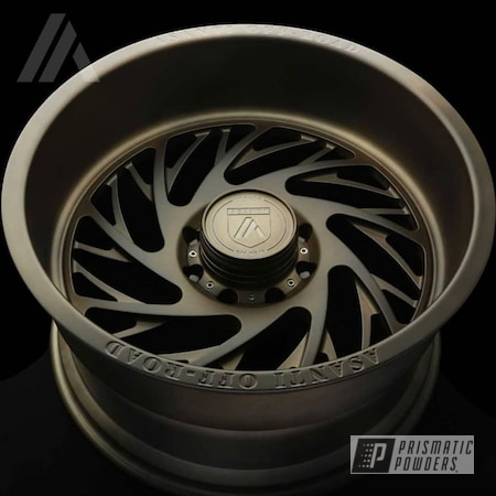 Powder Coating: Wheels,Automotive,Custom Automotive,Bronze,Asanti Rims,Custom Wheels,Asanti,Melted Bronze PPB-8034