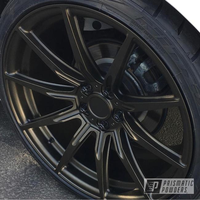 Custom Wheel Featuring Antogan Texture Powder Coat