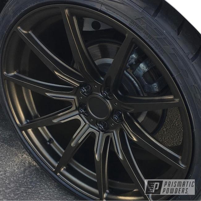 Powder Coating: Wheels,Automotive,Custom Wheels,Textured Finish,Antogan Texture PTB-6687,Textured