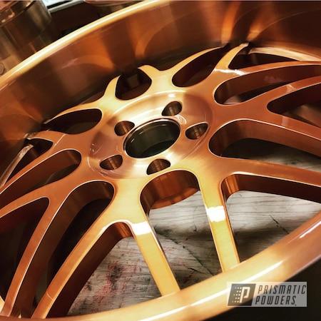 Powder Coating: Wheels,Automotive,Custom Wheels,Trans Copper II PPS-2618