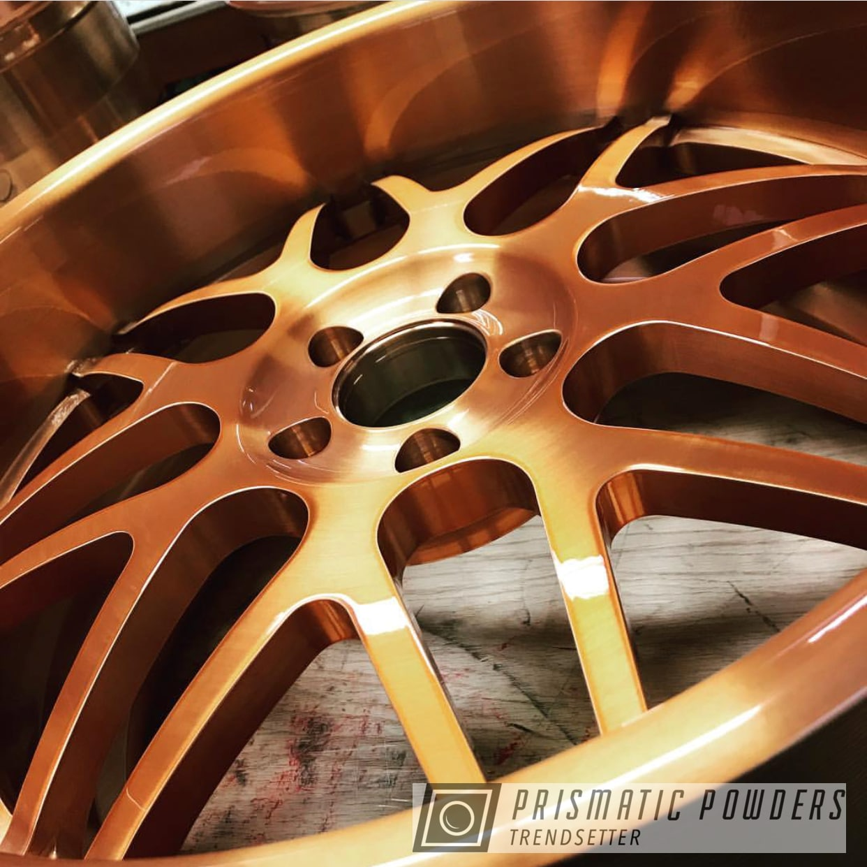 Powder Coating: Wheels,Automotive,Custom Wheels,Trans Copper II PPS-2618