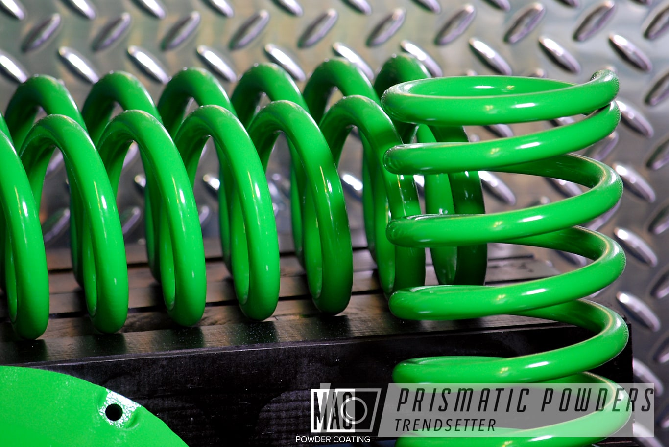 Powder Coating: Automotive,Custom Auto Parts,Differential Cover,Jeep,Racer Green PSS-4531,Jeep Coil Springs,Suspension