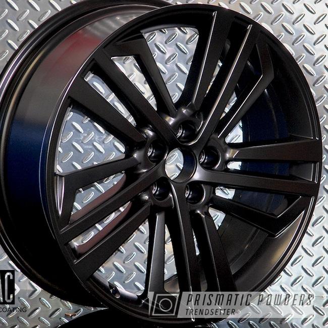 Powder Coating: Automotive,Audi Wheels,Audi,Custom Audi Wheels,Silk Satin Black HSS-1336