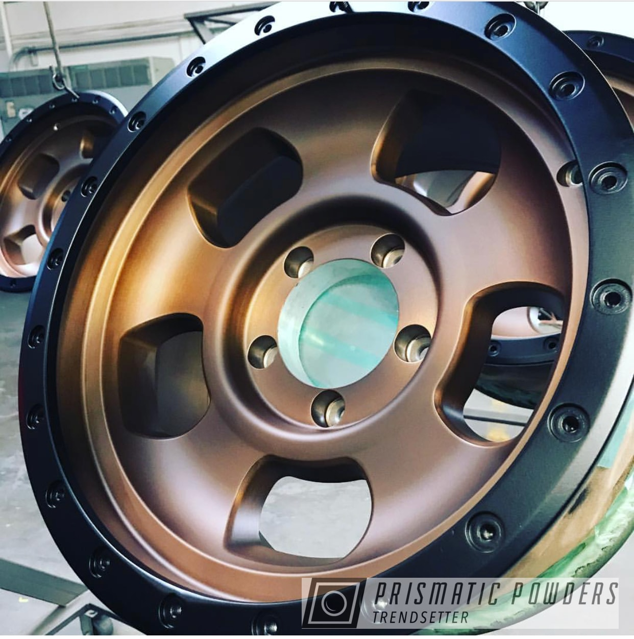 Powder Coating: Wheels,Automotive,BLACK JACK USS-1522,Custom Wheels,Two tone rims,Transparent Bronze PPB-5759,Two Toned