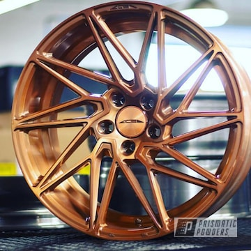 Wheels Featuring A Trans Copper Ii Power Coat Finish