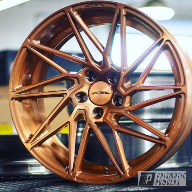 Wheels Featuring A Trans Copper Ii Power Coat Finish
