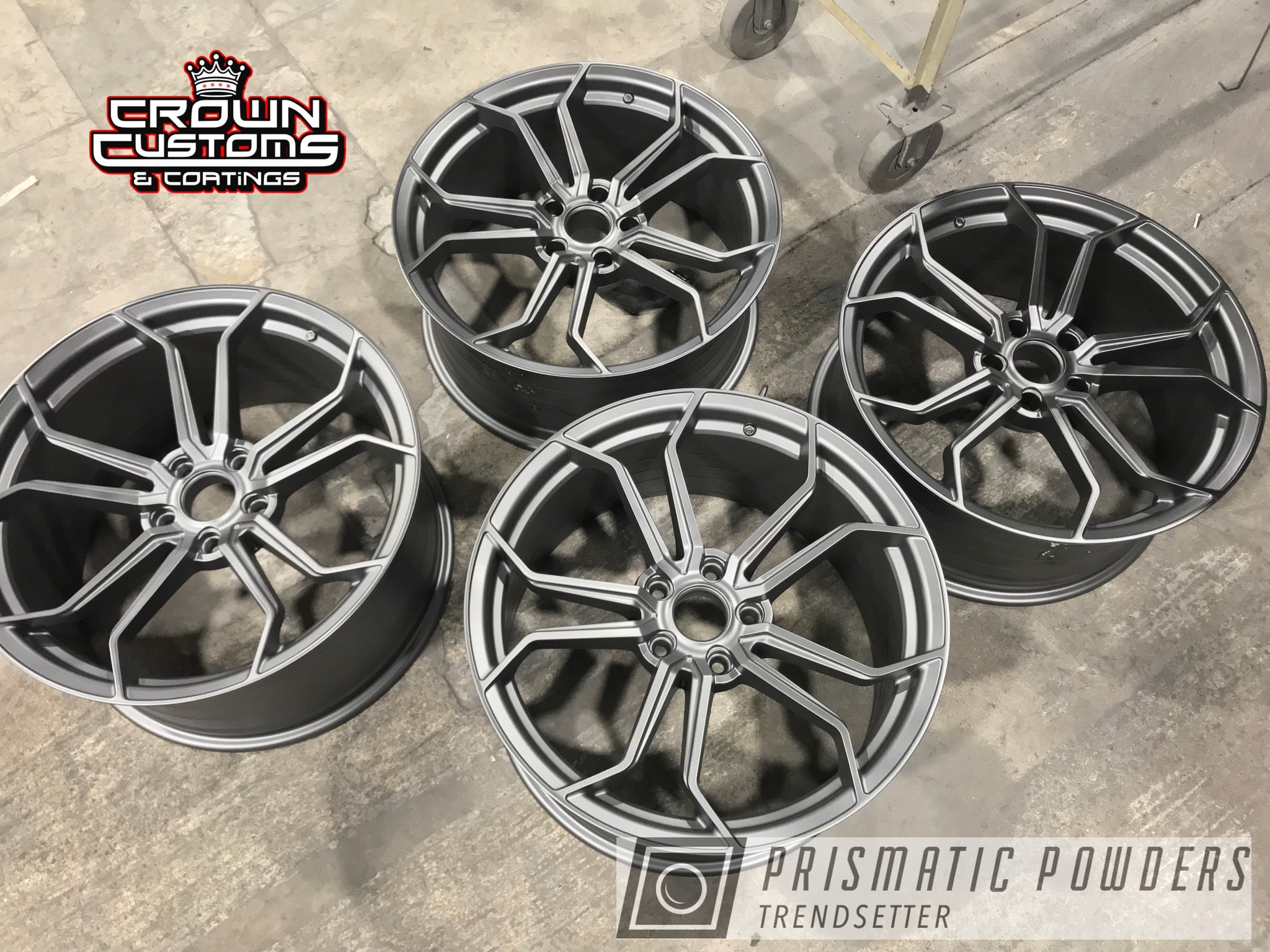 Powder Coating: Wheels,AG Wheels,FORGED CHARCOAL UMB-6578,Automotive,Avant Garde,Avant Garde Wheels