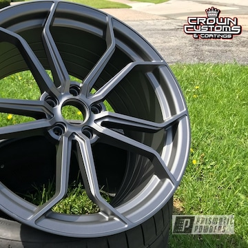 Ag (avant Garde) Art Series M632 Wheels Refinished In A Forged Charcoal Powder Coat