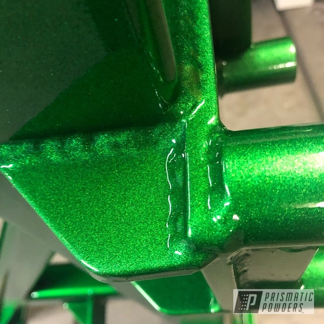 Powder Coating: Illusion Money PMB-6917,Clear Vision PPS-2974,Tools,Equipment