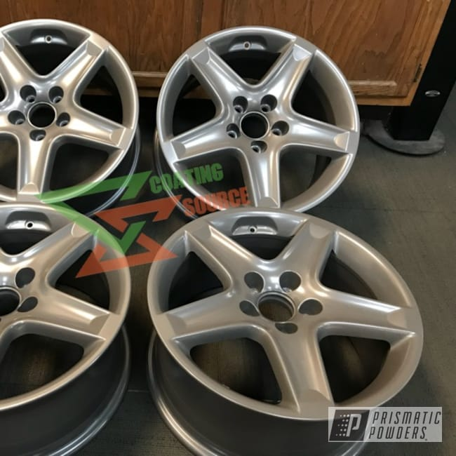 Powder Coating: Wheels,Automotive,Custom Wheels,Silver Bronze PMB-4159