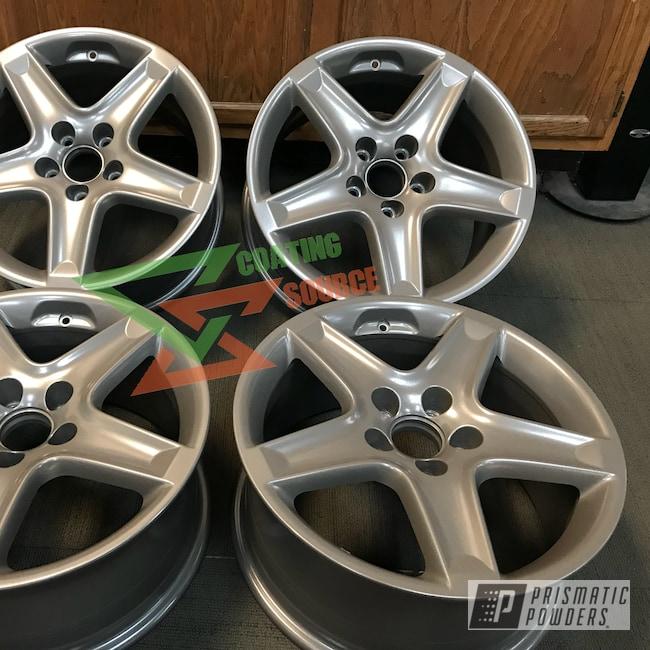 Powder Coating: Wheels,Automotive,Custom Wheels,Silver Bronze PMB-4159