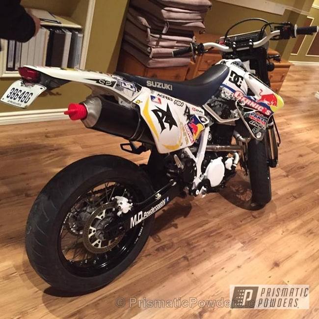 Powder Coating: Card Black PSS-1523,Motorcycles,Custom Dirt Bike,Drz400