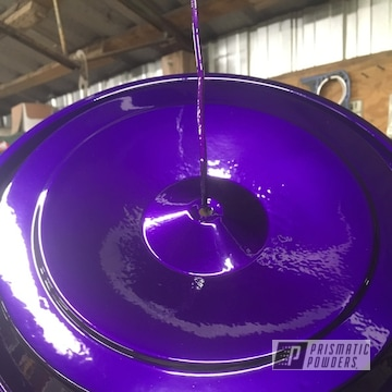 Clear Vision Over Illusion Purple On Valve Covers
