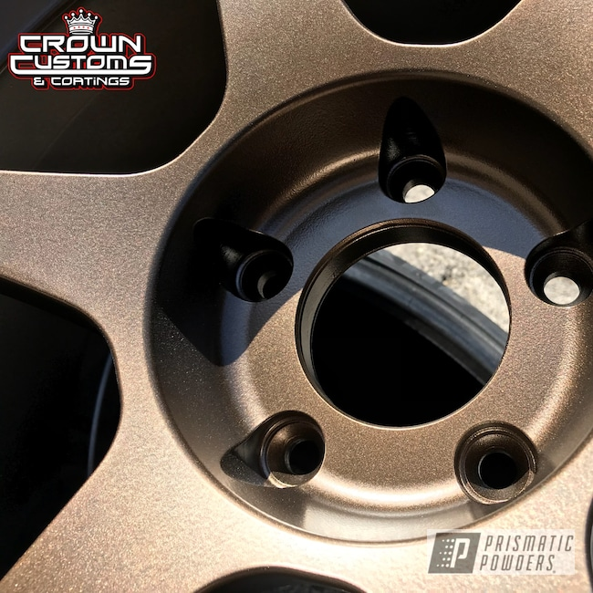 Powder Coating: Wheels,TRIPLE BRONZE UMB-4548,ssr wheels