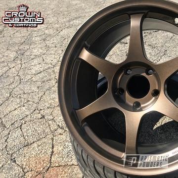 Ssr Wheels Refinished In Triple Bronze