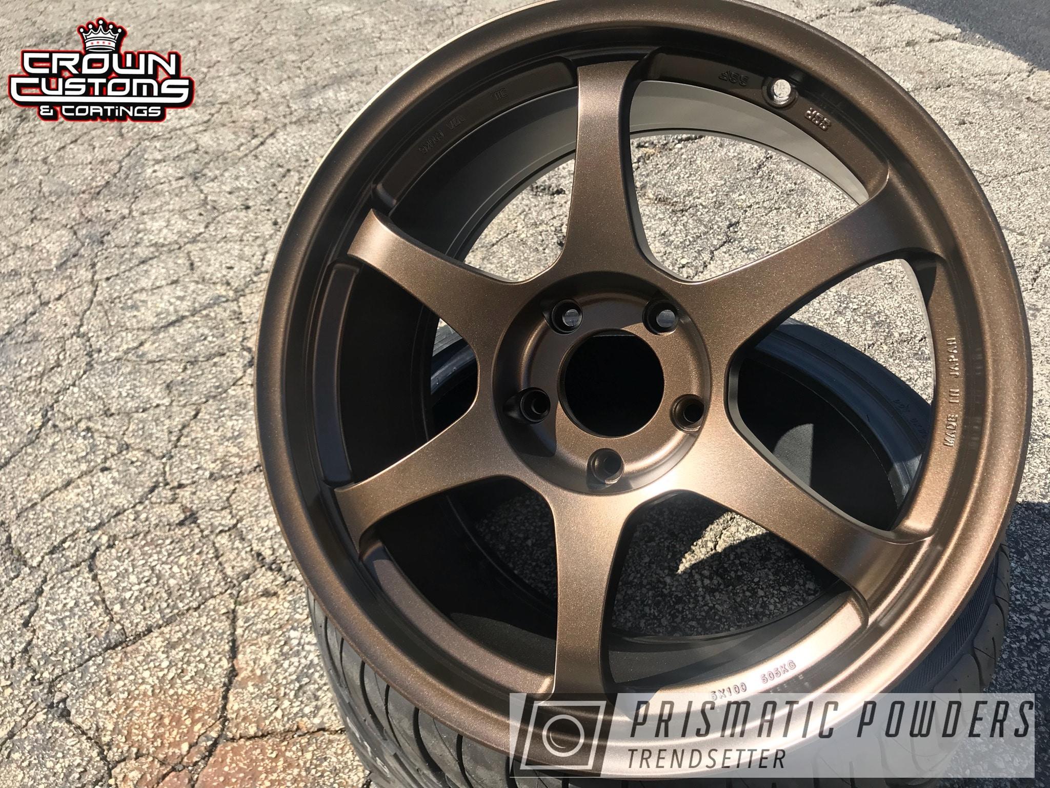 Powder Coating: Wheels,TRIPLE BRONZE UMB-4548,ssr wheels