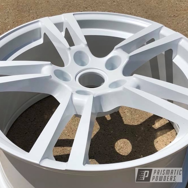 Powder Coating: Wheels,Automotive,22'',Pearl,Porsche,Pearl Sparkle PMB-4130