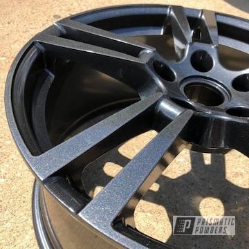 Custom Wheels done in a Kingsport Grey Powder coat